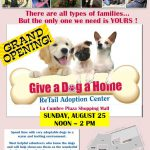 Give a Dog a Home Grand Opening Poster